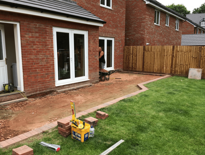 X-Grid and Resin Bound Patio Project