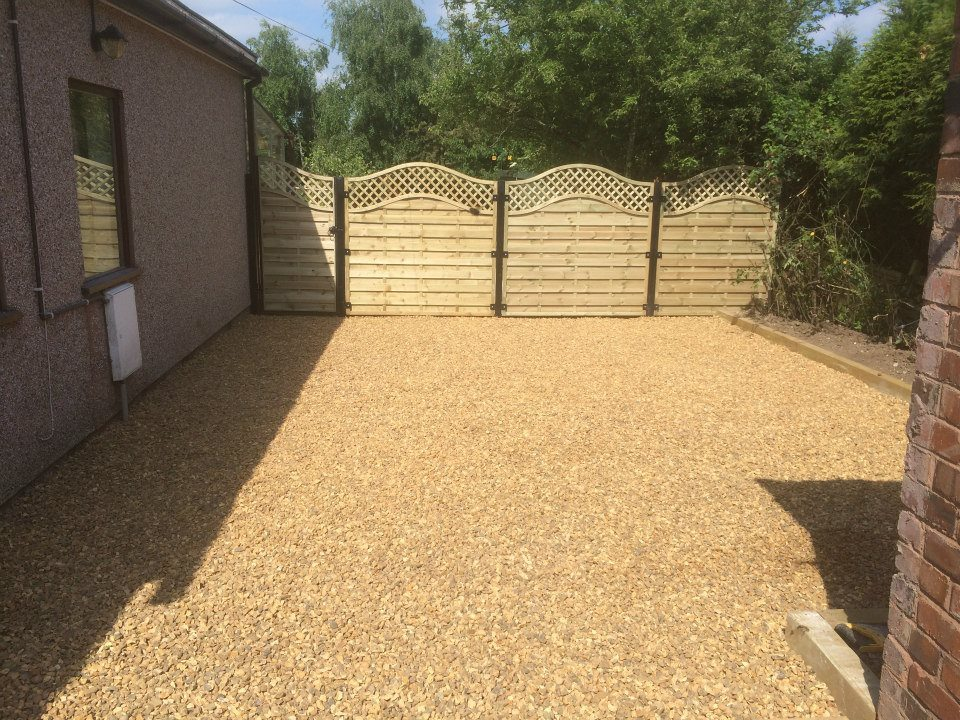 Domestic Driveway Tamworth Finished