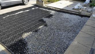 X-Grid Gravel Driveway
