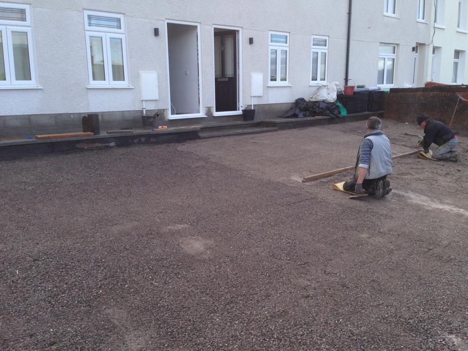 Domestic X-Grid Driveway - No1 Home Improvements During1
