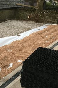 GB X-Grid Stables In Progress