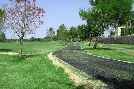 Golf Pathway Grids