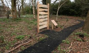Hill Holt Wood Rubber Grass Mats Extra 2