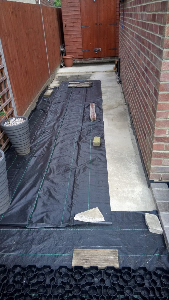 How to Perfectly Install a Gravel Driveway Membrane Install