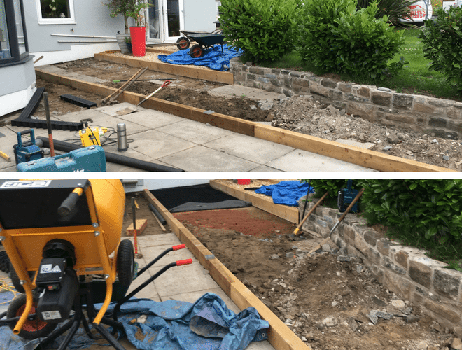X-Grid® Garden Paving Project