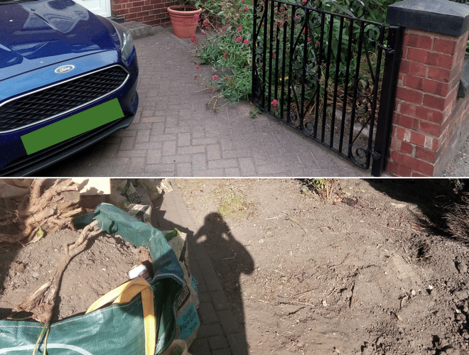 X-Grid Driveway Extension Project