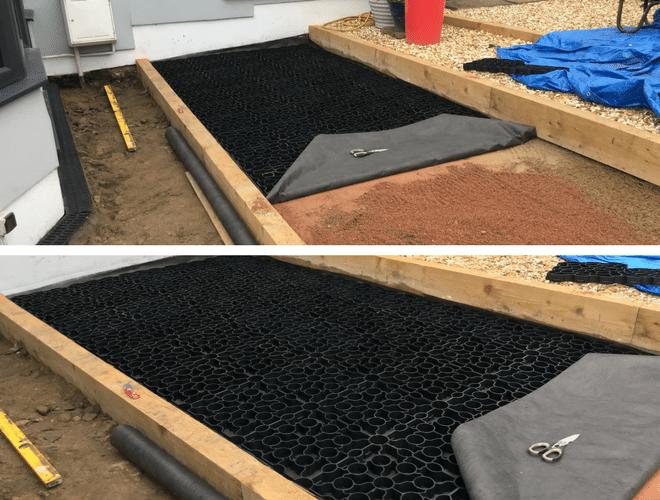 X-Grid® Garden Paving Work