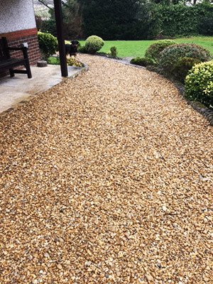 Pros and Cons of Gravel Driveways Anti-migration grids