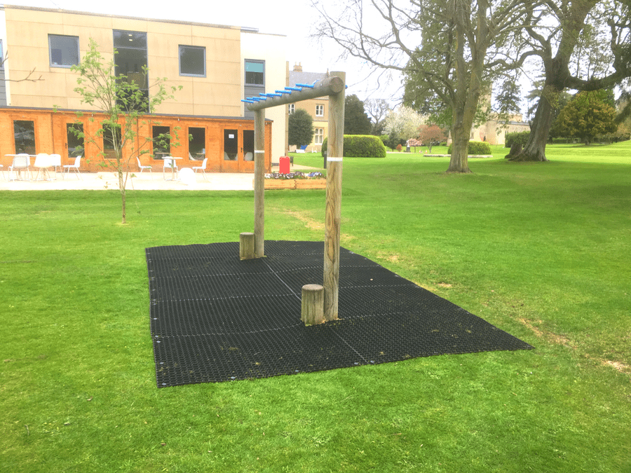 Not Just Any Grass Protection Matting