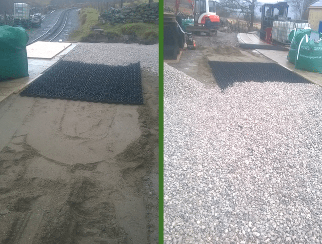Snowdon Railway X-Grid® Work