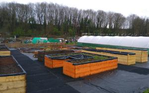 St Werburghs City Farm Rubber Grass Mats Project