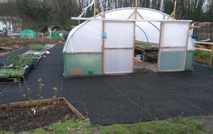 St Werburghs City Farm Rubber Grass Mats Work