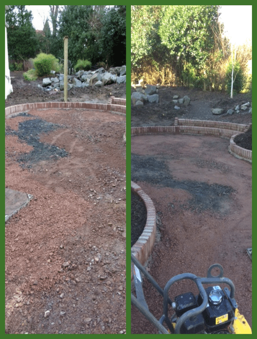 X-Grid Garden Paving Project