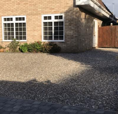 Black X-Grid Gravel Driveway Conclusion