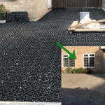 Black X-Grid Gravel Driveway Featured Image