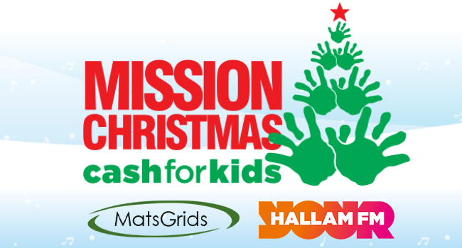 MatsGrids Hallam FM Mission Christmas Cash For Kids