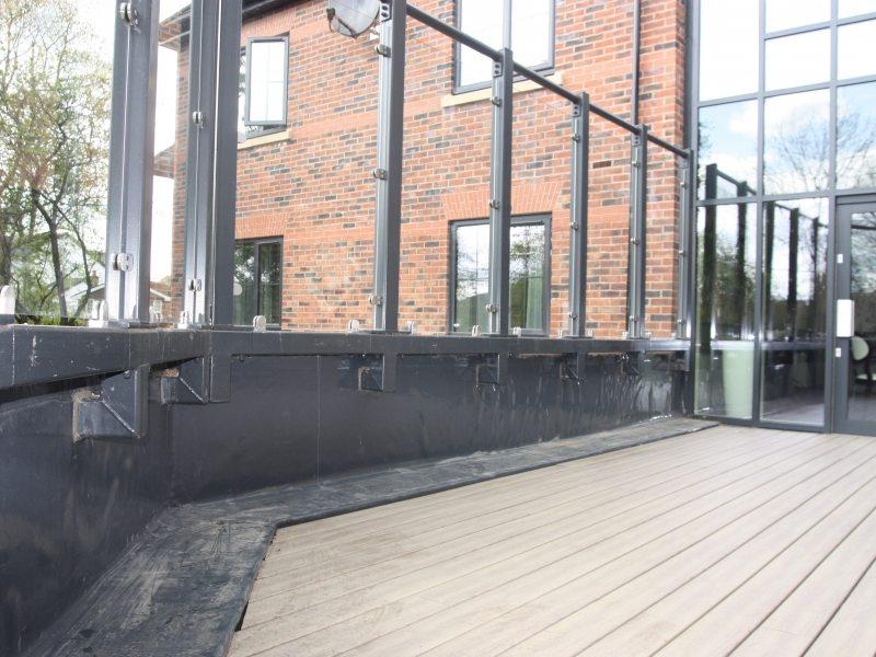 Anteak Oak Deck Plastic Decking Boards 3