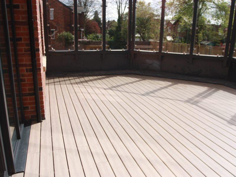 Anteak Oak Deck Plastic Decking Boards 6