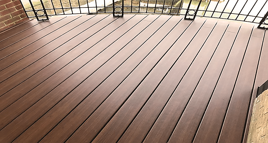 Elegrodeck Recycled Plastic Decking Boards Balcony Featured Image