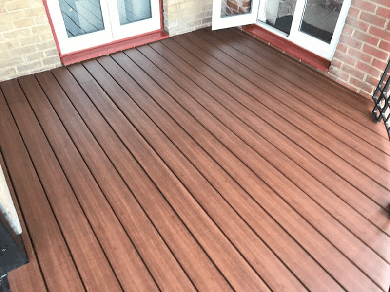 Elegrodeck Recycled Plastic Decking Balcony