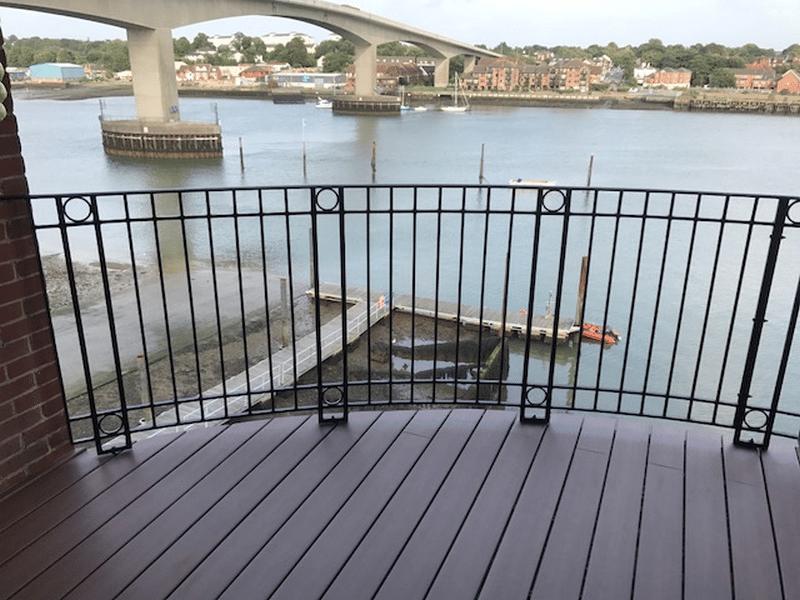 Elegrodeck Plastic Decking Boards Balcony