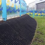 Bulwell Riverside Banking Grass Protection Mats Installed Featured Image