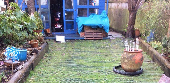 Grass Reinforcement Mesh Project