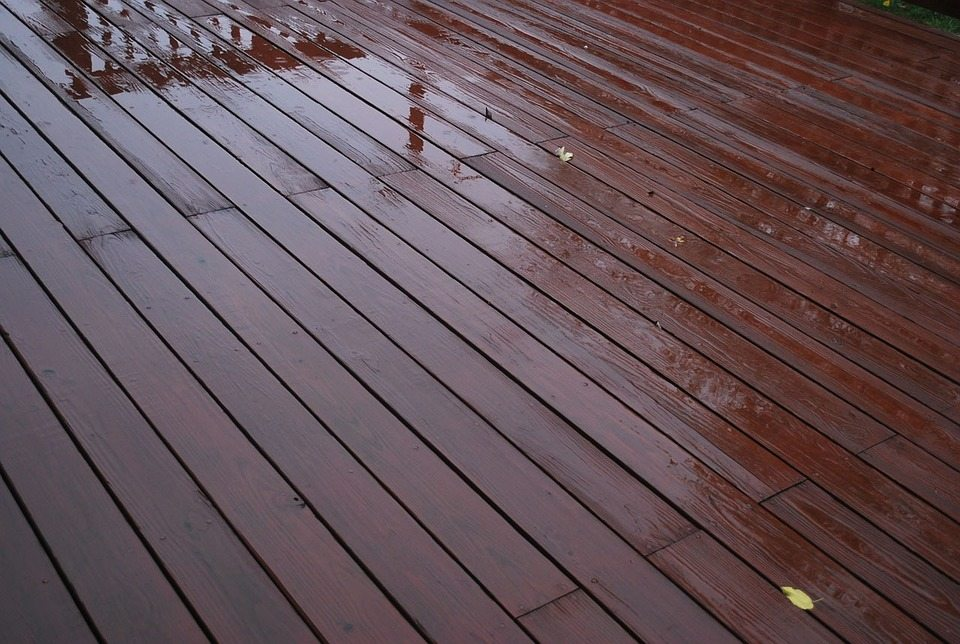 Wooden Timber Decking Boards