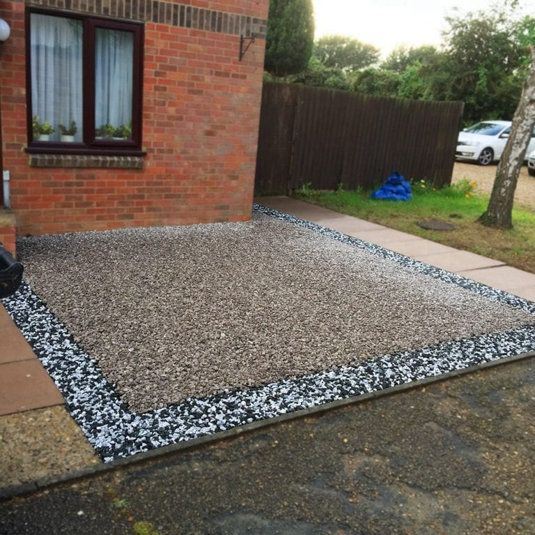 12m² Gravel Driveway Created Using X-Grid: conclusion