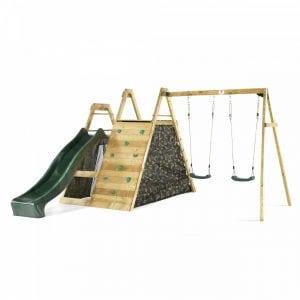 Climbing Pyramid With Swings - PlumPlay