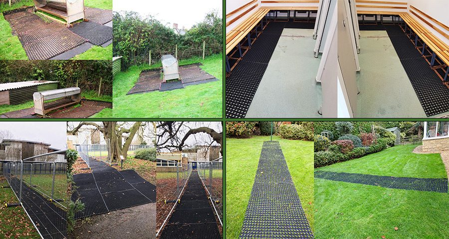 Rubber Grass Mats Multiple Uses Featured-Image