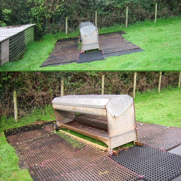 Grass Mats Four - Sheep Feeders & Bee Hives