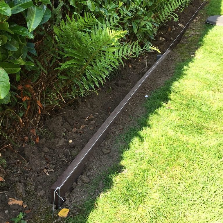 Lawn Edging Plank Installation Case Study: Project