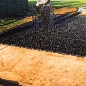 25m² Black X-Grid® Access Route: Ground Preparation