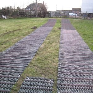 Grass Reinforcement TurfMesh: The Project