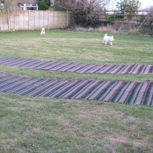 Grass Reinforcement TurfMesh: Work