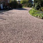 232sqm X-Grid Gravel Driveway Featured Image