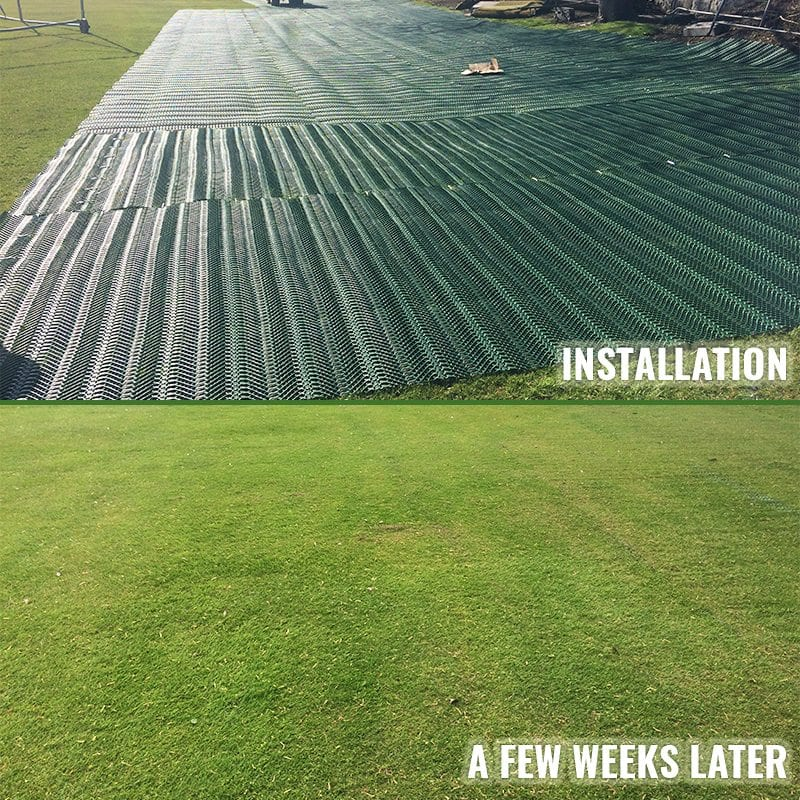 The Grange Sports Club – Large TurfMesh Installation Case Study: Before and After