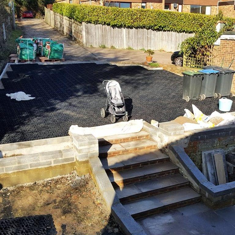 80m² X-Grid® Domestic Gravel Driveway Installation: conclusion