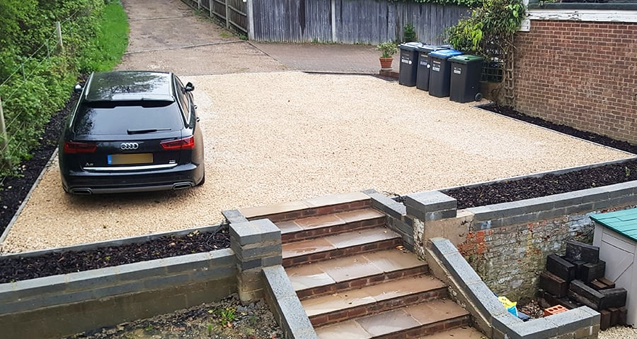 80m² X-Grid Domestic Gravel Driveway Featured Image