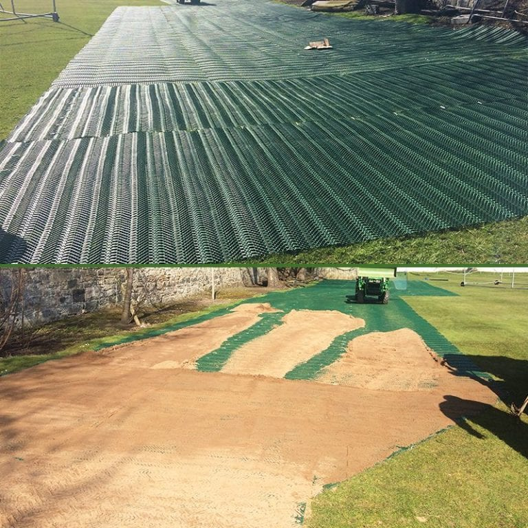 The Grange Sports Club – Large TurfMesh Installation: The Project