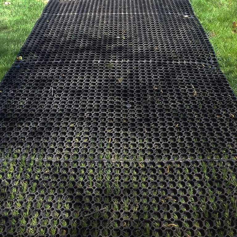 Grass Mats Used To Create Paths At Lancaster Golf Club: The Project