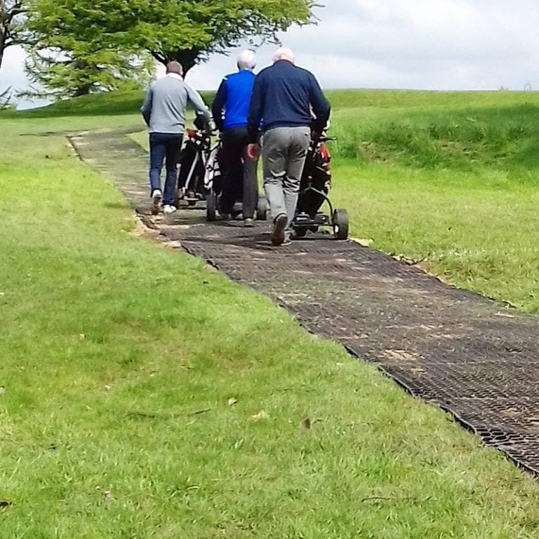 Grass Mats Used To Create Paths At Lancaster Golf Club: conclusion