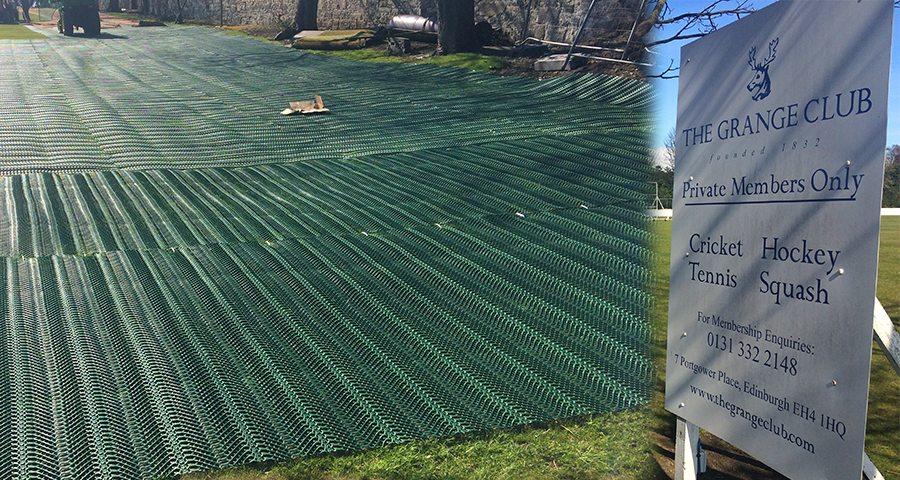 The Grange Sports Club - Large TurfMesh Installation - Featured Image
