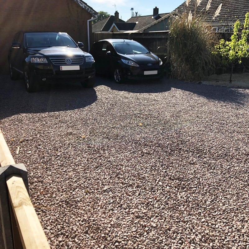 X-Grid Domestic Gravel Driveway Complete