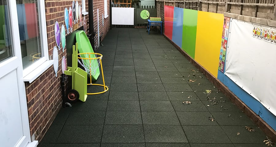 Creating A Safe Play & Learning Area Using Rubber Play Tiles - Featured Image