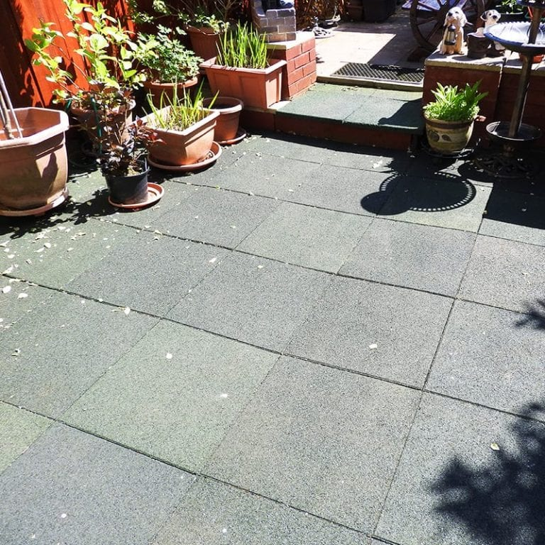 Installing The Rubber Tiles