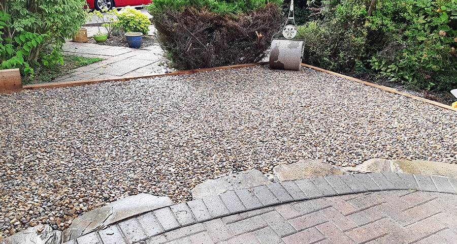20m2 X-Grid® Gravel Driveway Extension - Customer Case Study - Featured Image