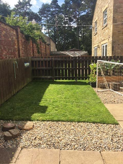 Installing Grass Protection Mesh & Lawn Edging