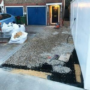 Installing Gravel Driveway